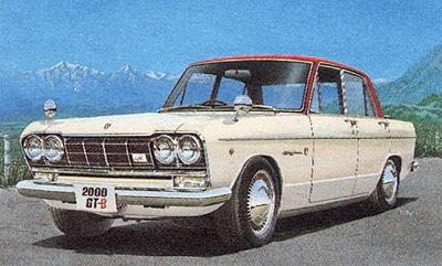 1963 プリンス スカイラインS54B