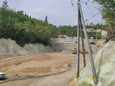 スピードウェイ広島の工事状況