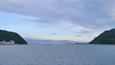 阿伏兎から見る四国の山々