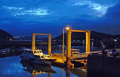 阿伏兎港の様子