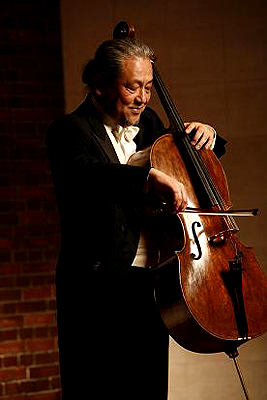 NHK交響楽団首席チェロ奏者の木越 洋 氏