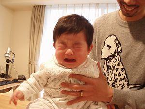 泣き顔もかわいい。あははっ!