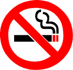 禁煙、禁煙!