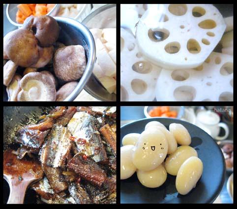 正月料理準備