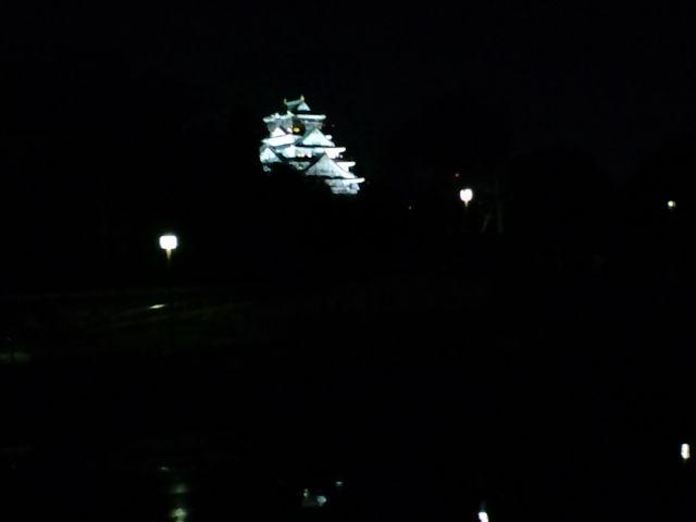 やっぱり目を引く大阪城(笑)