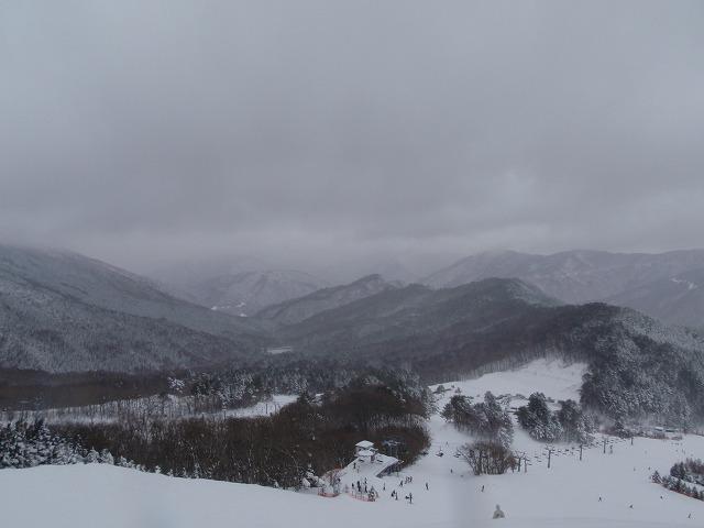 立山コースから…