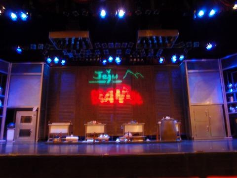 開演前の舞台(μ1030SWにて撮影)