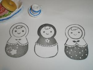 マトリョーシカ三姉妹