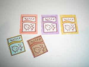 切手 ひよこ