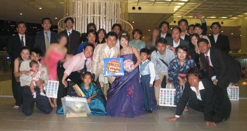 岡結婚披露パーティー