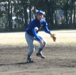佐藤二塁手