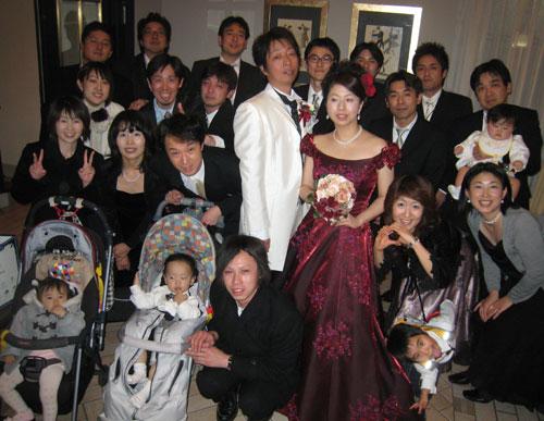 佐藤結婚披露宴