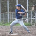 この試合、3本の二塁打を放った田中