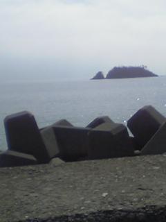 地元の海で~す!