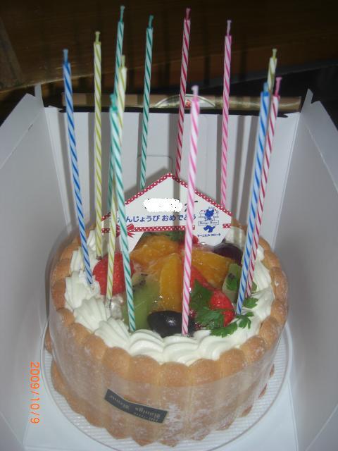 ボン②のケーキ