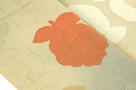 椿柄の小紋