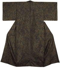 海松色の着物