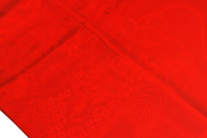 紅絹長襦袢UP