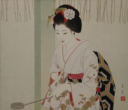 志村立美-美人画
