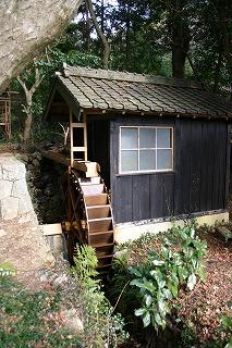 嵩山正宗寺の水車