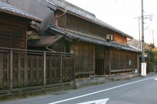 藤川宿の建物