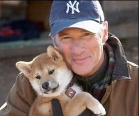 Hachiko and Richard Gere