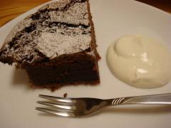 チョコレートケーキ小