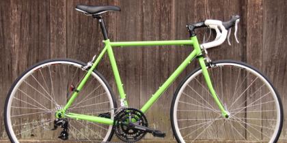 【ART CYCLESTUDIO】クロモリロードの自転車。