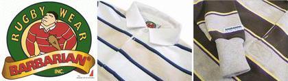 BARBARIAN バーバリアン L/S ラガーシャツ