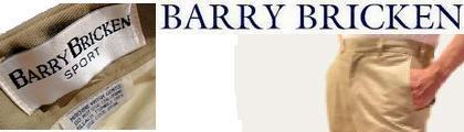 【バリーブリッケン】Barry Bricken DAMON 別注チノパンツ