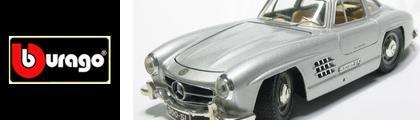 【ブラーゴ・ミニカー】BURAGO メルセデス・ベンツ300SL