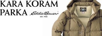 【Eddie Bauer/Kara Koram Parka】エディーバウアー・カラコラムパーカ