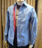 【Engineered Garments】4.5オンス シャンブレーシャツ