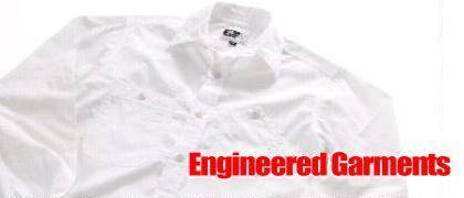 【エンジニアード・ガーメンツ(Engineered Garments)】ピマコットン・ワークシャツ