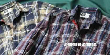 【Engineered Garments】エンジニアド・ガーメンツ 2006年新作 ワークシャツ