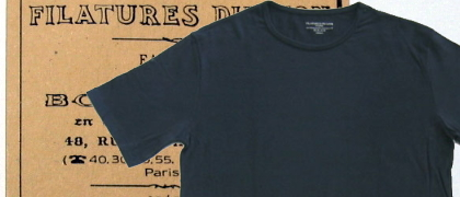 Filatures du Lion(フィラチュールドリオン)「E7/503」スムースTシャツ