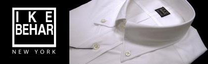 【IKE BEHAR】アイクベーハー オックスフォード ボタンダウンシャツ