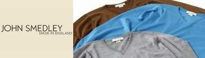 【JOHN SMEDLEY・BRADING】ジョンスメドレー/Vネックセーター(BRADING)