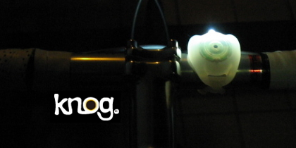 【knog(ノグ)】new 1 LED ライト(Colored FROGS)