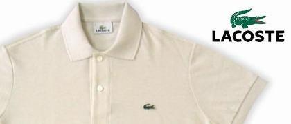 【Lacoste(ラコステ)】OMER/イタリアンフィットのポロシャツ。