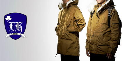 MT.RAINIER DESIGN×Losthillsの60/40(ロクヨン)E.C.W PARKA。