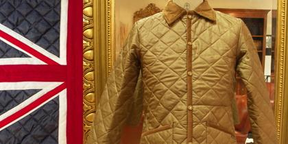 【Lavenham/Raydon】スリムフィット・キルティングジャケット