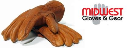 【MidWest Quality Gloves, Inc】ミッドウェスト・バッファローレザーグローブ