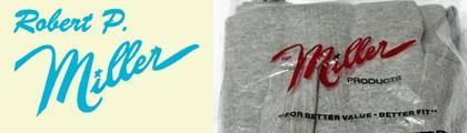 【ミラー】R.P.MILLER(Robert P.MILLER)Tシャツ