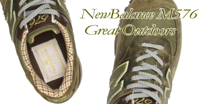 【New balance/ニューバランス】M576UK(Great Outdoors/Barbour)