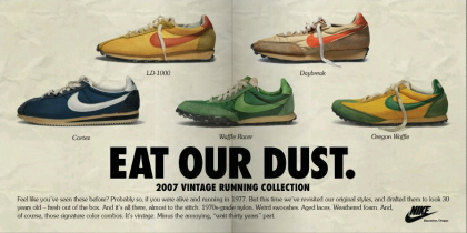 【NIKE(ナイキ)】VINTAGE running collection