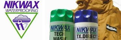 【ゴアテックスの洗濯・手入れ】NIKWAX・LOFT TECH WASH