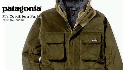 【Patagonia】ヨーロッパ限定 M's Cordillera Parka