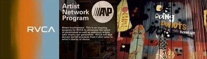 【RVCA(ルーカ)】ANP(Artist Network Program)Tシャツ