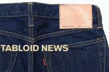 【tabloid news(タブロイドニュース)】セルビッチデニム5Pジーンズ
